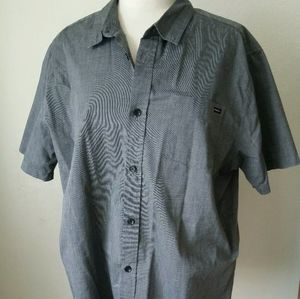 O'neill Grey Classic Fit Short Sleeve Xl Pocket
